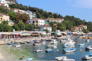 Rabac - the pearl of the east coast of Istria